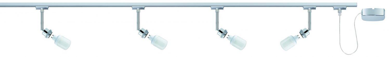 paulmann u rail set urail decosystems basis 4x9w gu10 chrom 230v metall. Black Bedroom Furniture Sets. Home Design Ideas