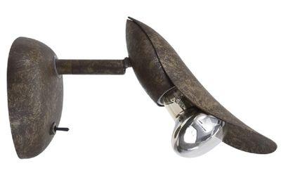 Paulmann Spotlights Petunia Balken 1x40W E14 Rusty Iron 230V Metall