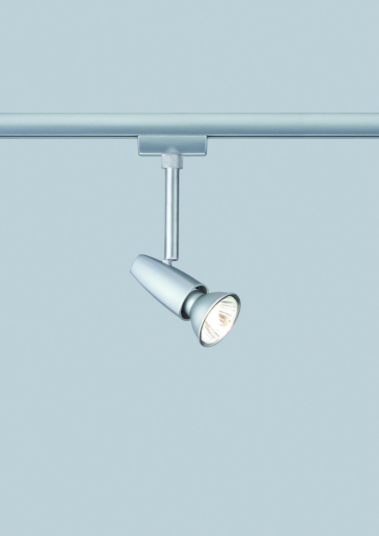 Paulmann U-Rail Einzelteile 96846 URail System Light&Easy Spot Barelli 1x50W GU10 Titan 230V Metall