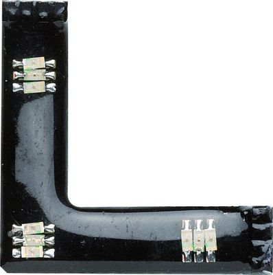 Paulmann Function FixLED RGB 90°-Connector 3x0,24W LED Schwarz-Kunststoff