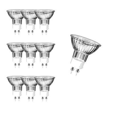 10x GU10 Halogen Leuchtmittel 230V Reflektorlampe 50W