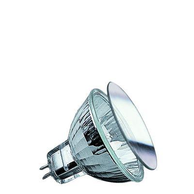 832.21 Paulmann 12V Fassung Security Halogen Reflektor mit Schutzglas 20W GU5,3 12V 51mm Silber