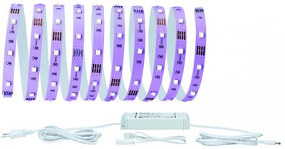 70329 Function BlackLight LED Stripe Set 3m 21,6W 230/12V DC Schwarzlicht