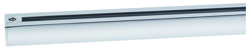 Paulmann 968.65 URail Schienensystem Light&Easy Schiene 1m Chrom 230V Metall