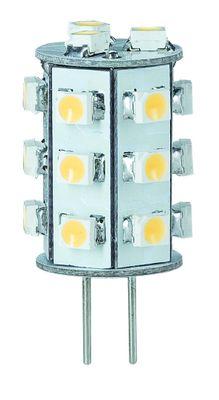 LED NV-Stiftsockel rundum 1W G4 Warmweiß