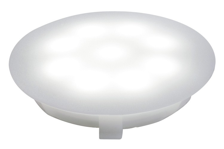 Profi EBL UpDownlight LED 1W 12V 45mm Satin/Kunststoff 001