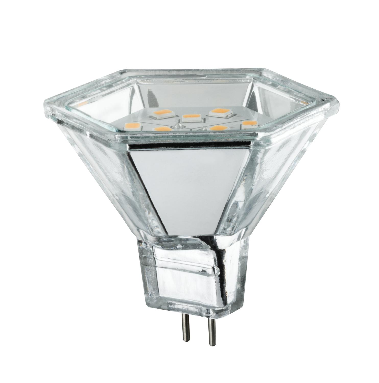 paulmann 12v fassung led reflektor hexa 2w gu5 3. Black Bedroom Furniture Sets. Home Design Ideas
