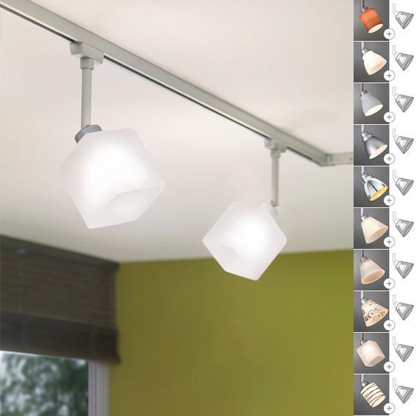 Paulmann U Rail Schienensystem LED GU10 4x4Watt Halogen 4x40W ESL 4x7W Warm Weiss URail Deckenlampe