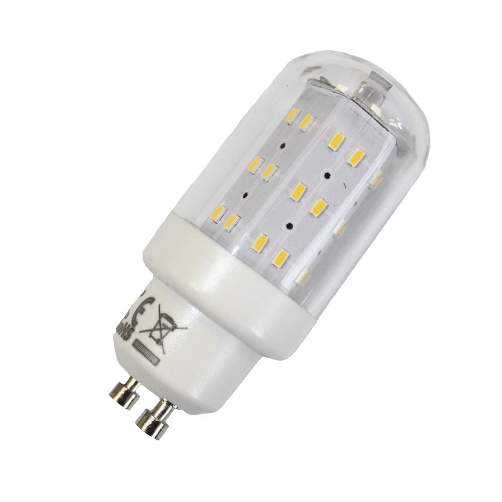 LED Leuchtmittel 4W GU10 3000K Warmweiss 230V 400lm Klar