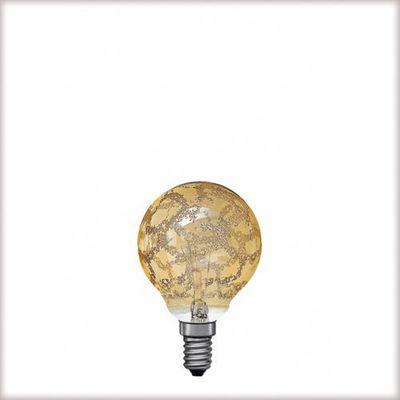 Miniglobe 60W E14 Krokoeis gold