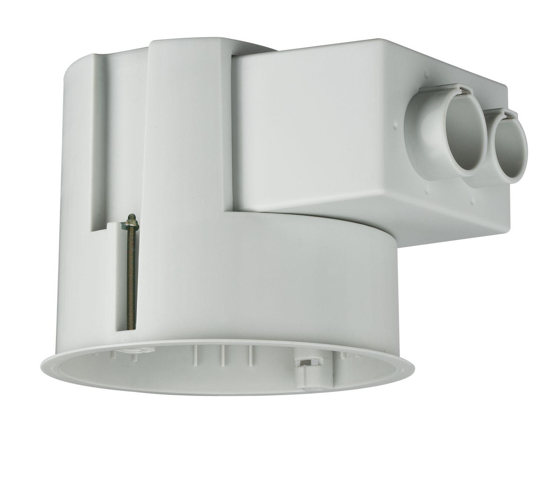 Paulmann Einbauleuchten Zubehör 250 Einbaugehäuse für Hohldecken Ø bis 90mm Einbautiefe 110mm max.35W Grau