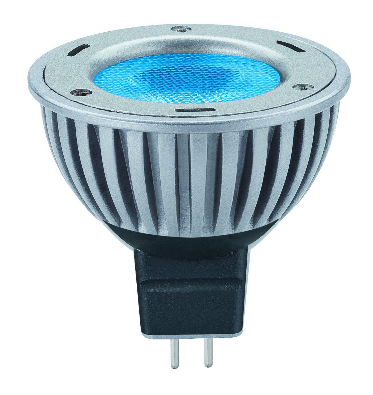 paulmann 12v fassung led powerline 1x3w gu5 3 blau. Black Bedroom Furniture Sets. Home Design Ideas