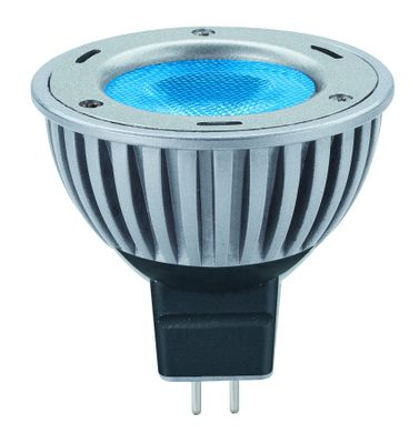 280.60 Paulmann 12V Fassung LED Powerline 1x3W GU5,3 Blau