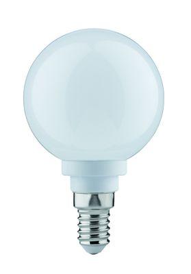 281.78 Paulmann E14 Fassung LED Globe 60 2,5W E14 230V Opal