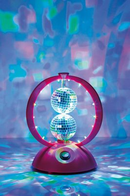 3578 TIP Dekoleuchten TIP Party LED Double Ball Tischleuchte 1,5W Pink