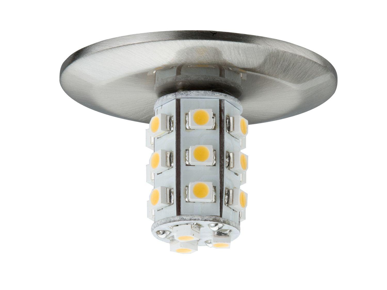Star EBL Set rund LED 5x1W 7VA 230/12V G4 40mm Eisen gebürstet/Metall
