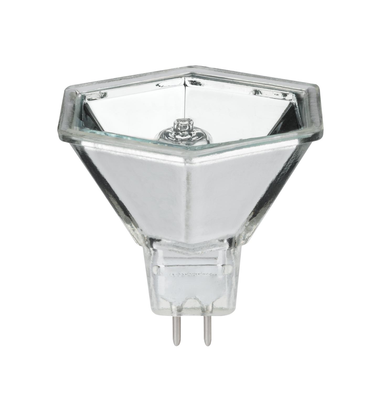 Halogen Reflektor Hexagonal flood 60° 35W GU5,3 12V 51mm Silber