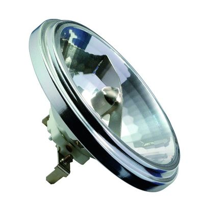 832.74 Paulmann 12V Fassung HV Halogen Reflektor AR111 24° 75W G53 12V 111mm Silber