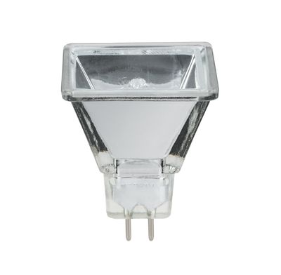 Halogen Reflektor Quadro flood 75° 20W GU5,3 12V 37mm Silber