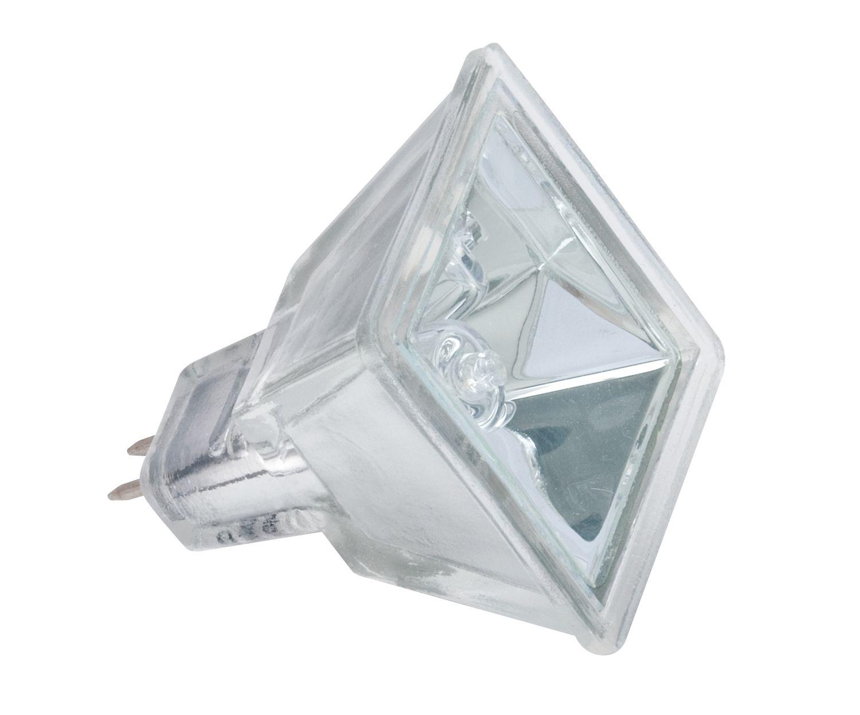 Paulmann 833.74 Halogen Reflektor Quadro flood 75° 35W GU5,3 12V 37mm Silber