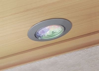 925.04 Paulmann Einbauleuchten 2Easy EBL Basis-Set RGB LED mit IR Fernbedienung 3x3W 30VA 51mm