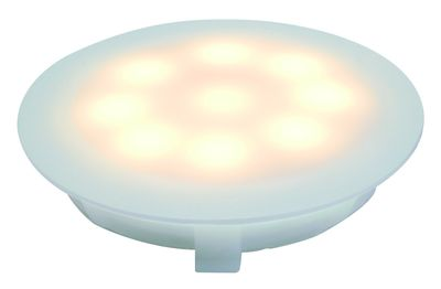 937.01 Paulmann Einbauleuchten Special EBL Set UpDownlight LED 3000K 3x1W 230/12V 45mm Satin/Kunststoff