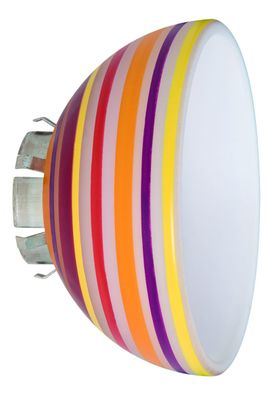 975.70 Paulmann Lampenschirme Wire+Rail System Schirm Extra Lampshade Sheela max.1x20W Multicolor Glas