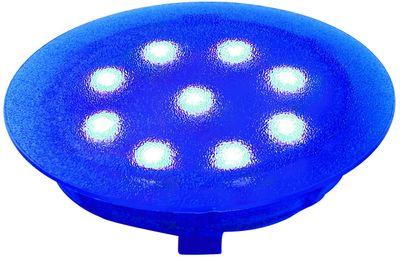 987.51 Paulmann Einbauleuchten Special EBL UpDownlight LED 1W 12V 45mm Blau/Kunststoff