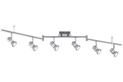 601.94 Nice Price Deckenleuchten Nice Price Spotlight C12 LED Stange 6x3,5W GU10 Chrom 230V Metall