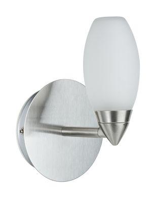 Paulmann WallCeiling Carina WL IP44 28W G9 Eisen gebürstet/Satin 230V Metall/Glas