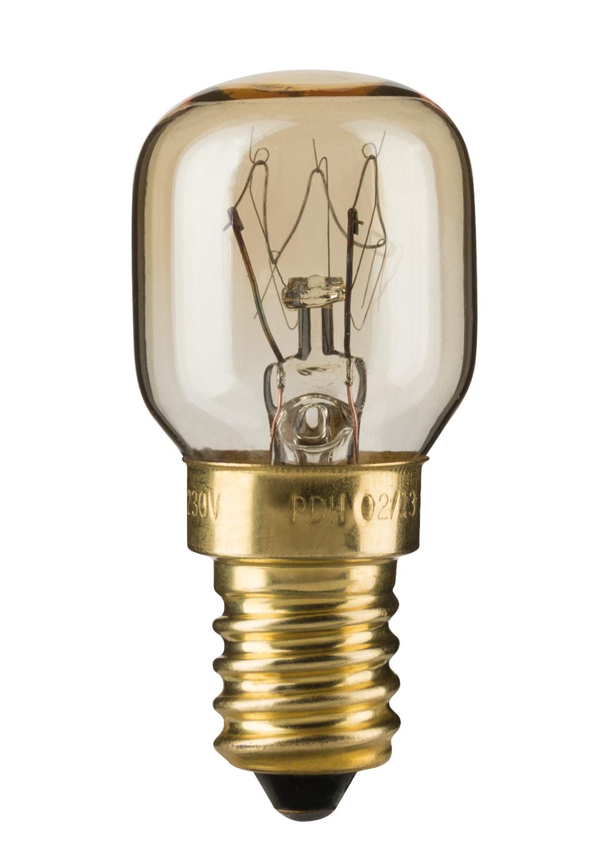 Birnenlampe Backofen 25W E14 230V 300° Klar