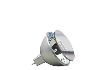 832.38 Paulmann 12V Fassung Halogen Reflektor Akzent mit Schutzglas FMW flood 38° 35W GU5,3 12V 51mm Alu