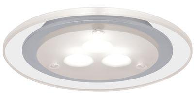 Paulmann Möbel Einbauleuchte Deco LED 1x3W 3000K 3VA 230V/350mA 100mm Chrom matt/Klar/Metall