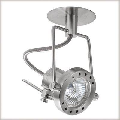 Paulmann Quality Einbauleuchte Techno Spot max.50W 12V GU 5,3 100mm Eisen gebürstet/Metall