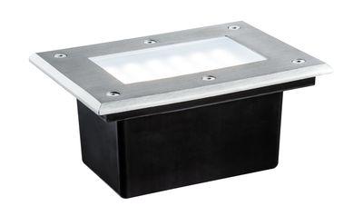 Special EBL Set Boden IP67 LED 2,5W 6500K 230V 185x136mm Edelstahl/Metall