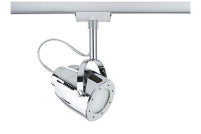 950.35 Paulmann U-Rail Einzelteile URail System Light&Easy Spot Mega max. 1x50W GU10 Chrom 230V Metall