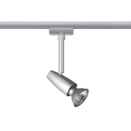 URail System Light&Easy Spot Barelli max. 1x50W GU10 chrom matt 230V Metall