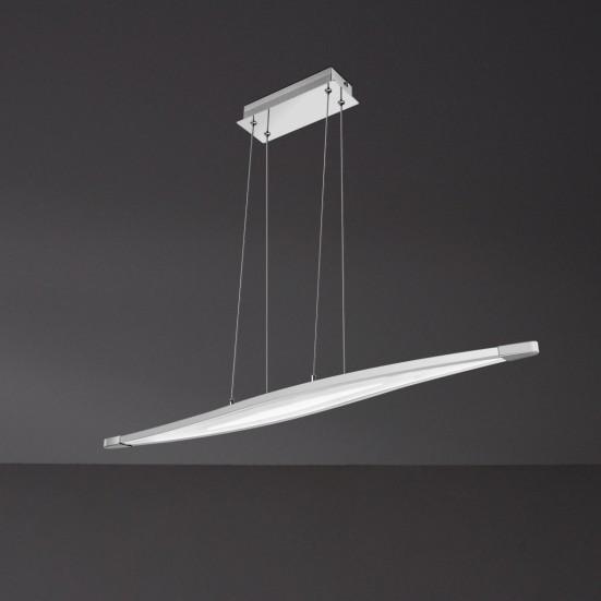wofi pendelleuchte 1 flammig trois 1 x led 25 w. Black Bedroom Furniture Sets. Home Design Ideas