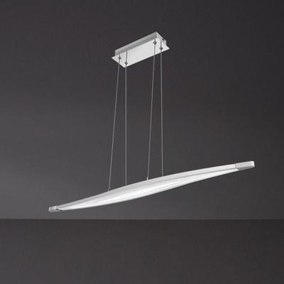 WOFI Pendelleuchte, 1-flammig Trois 1 x LED / 25 W Abhängung 150 cm, 3000 k, 1660 lm, Energieeffizenzklasse A dimmbar
