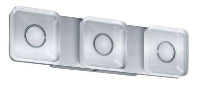 WallCeiling eckig Tucana IP44 LED 13,5W Alu eloxiert/Klar 230V Metall/Acryl