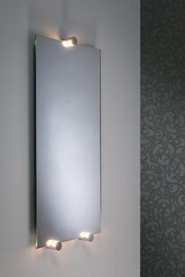 WallCeiling Navi Spiegelleuchte IP44 LED 3x3W Chrom/Ws 8,4VA 230/12V Alu/Acry