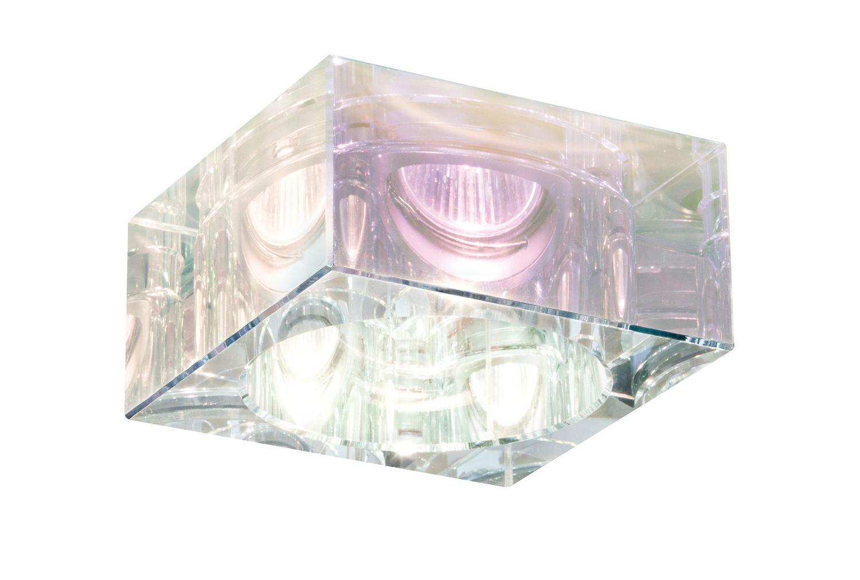 premium ebl set cristal quadro 3x35w 230v gu10 51mm dichroic glas. Black Bedroom Furniture Sets. Home Design Ideas