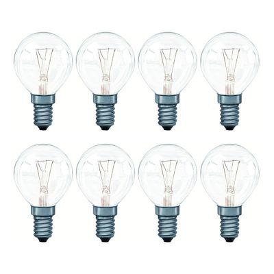8x 117.40 Paulmann E14 Fassung Tropfenlampe 40W E14 Klar