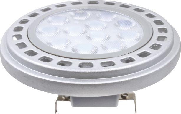 12 W G53 Fassung 12V AR111 LED Leuchtmittel Warmweiß 3000 Kelvin 900 Lumen (12V LED Trafo wird benötigt) 001