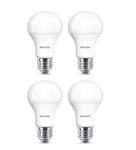 4-er Set Philips 8718696577998 E27 LED Leuchtmittel 11W ~ 75W Warmweiß satiniert 230V dimmbar