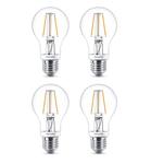 4-er Set Philips 8718696575154 E27 LED Leuchtmittel 40W A60 Warmweiß  240V dimmbar