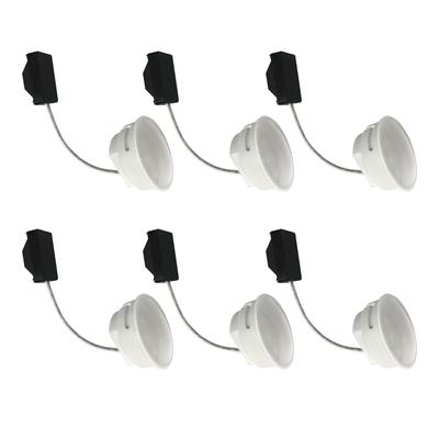 6-er Set 5,5 W LED Modul Warmweiß 230 V 3000 Kelvin 400 Lumen für Einbauleuchten