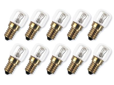 4050300003108.10 10er Set  Osram Special  SPC OVEN  Ofenlampe 15W E14   230VKlar 85lm