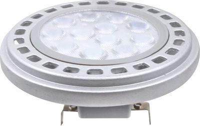 12 W G53 Fassung 12V AR111 LED Leuchtmittel Neutralweiß 4000 Kelvin 900 Lumen (12V LED Trafo wird benötigt)