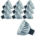 10 x 28038.10 Paulmann 12V GU5,3 Fassung LED Powerline 1,5W Warmweiß 3200K